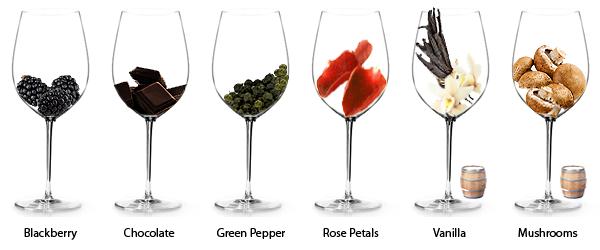 Arômes du vin. Arômes secondaires
