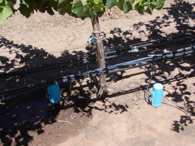Contrôle du sol en viticulture de précision